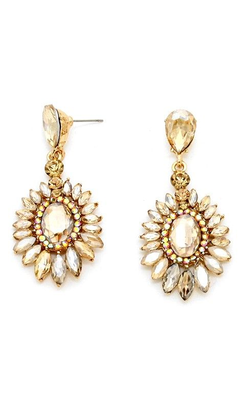 Marquise Anderson Earrings in Champagne