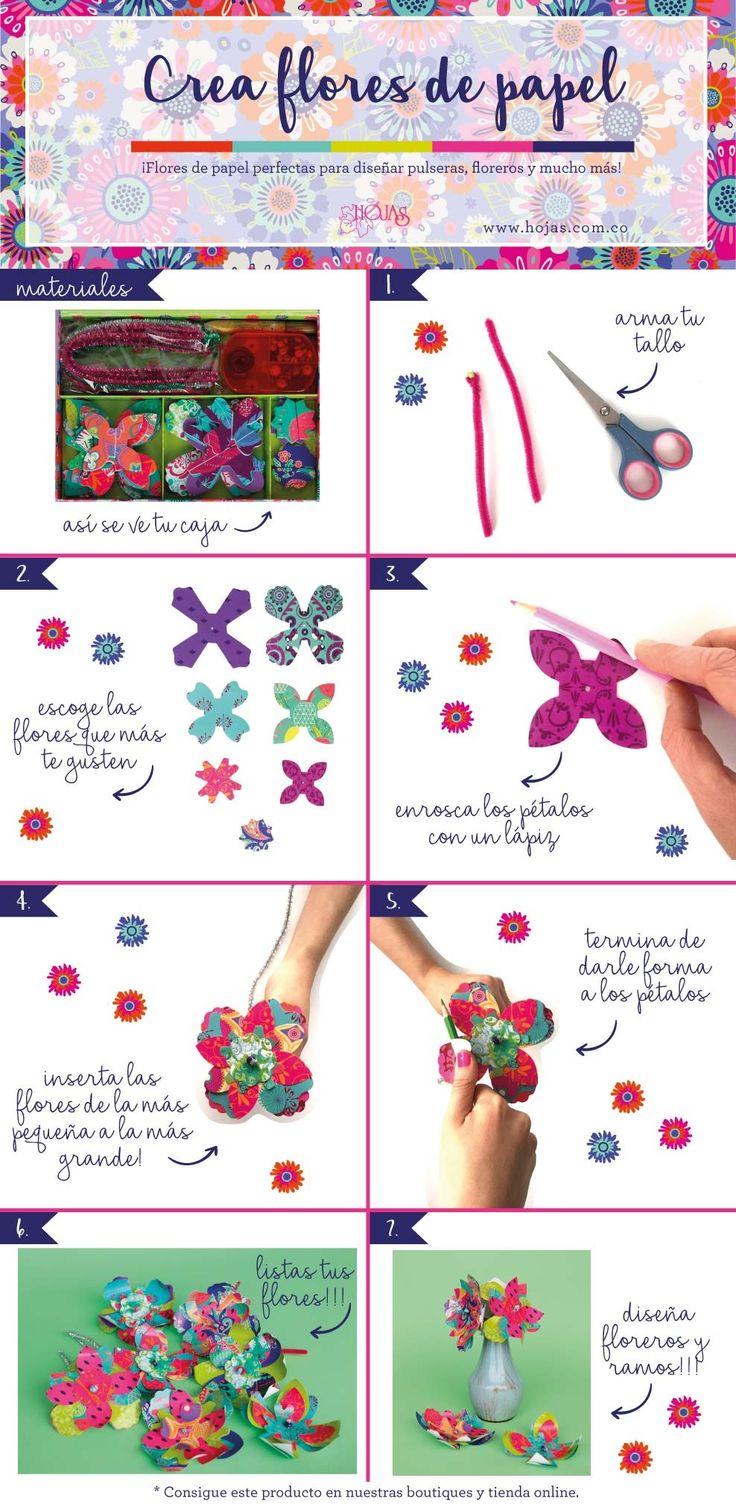 ¡Haz tus Flores de Papel!