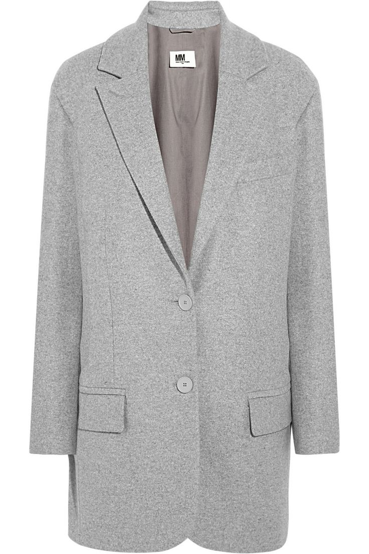 MM6 Maison Martin Margiela | Wool-blend felt coat |