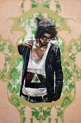Tarryn Gordon   Acrylic Paint on canvas  51x76cm
