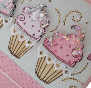 Icecream cupcake card