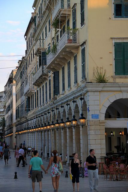 Corfu town, Greece | Flickr - Photo Sharing!