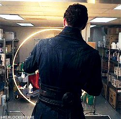 [GIF] DOCTOR STRANGE (2016) ~ Benedict Cumberbatch. Behind the scenes in the making of the movie.
