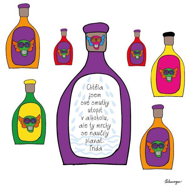 My favourite Frida quote. Petruccya