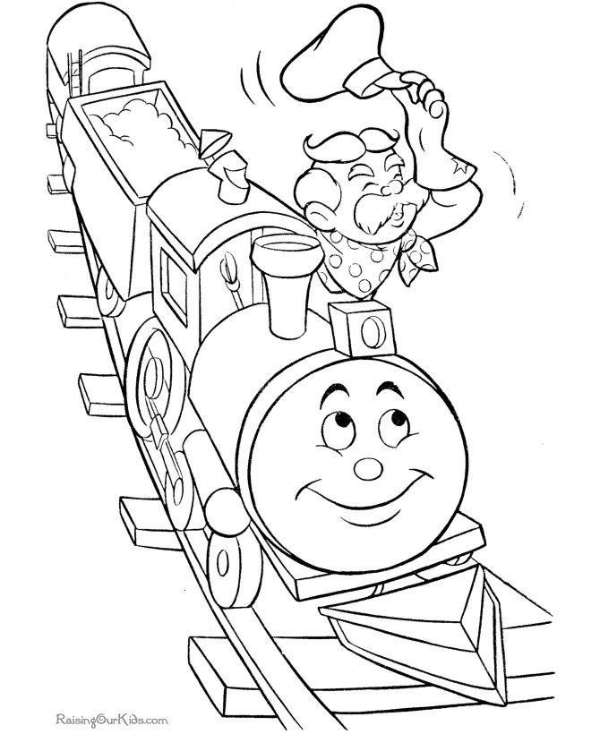 29 best Trains Coloring Pages images on Pinterest Coloring books