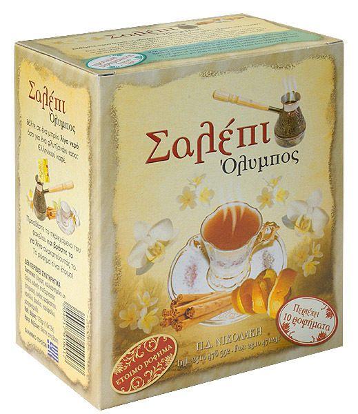 SALEPI -  SALE NATURAL GREEK PRODUCT -aphrodisiac qualities-10 sachets x 12gr #SalepiOlymposGreece