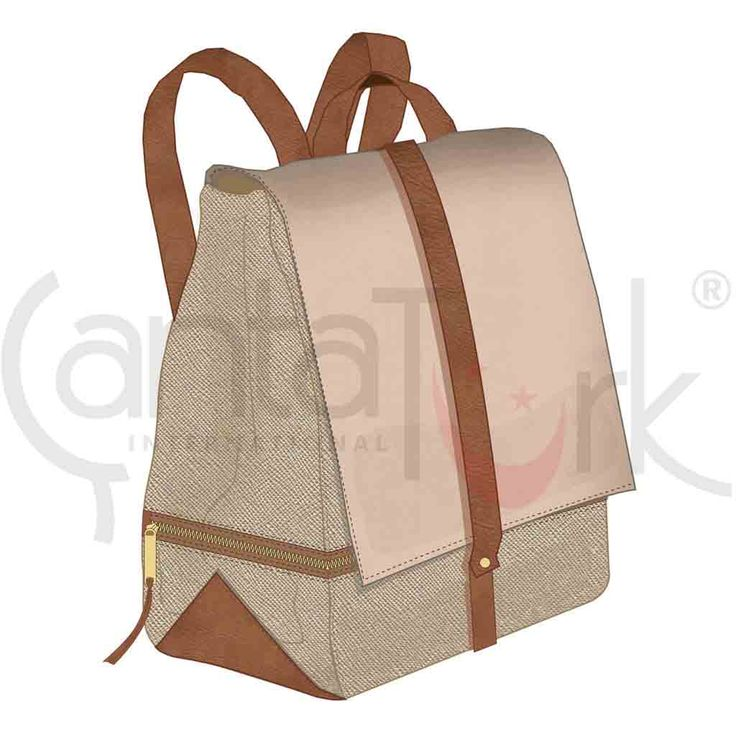 Backpack Gold Brown