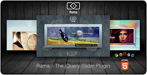 Rama - The jQuery Slider Plugin . What is