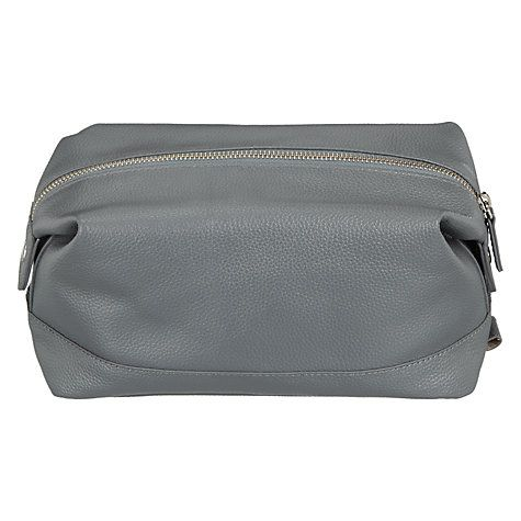 Buy John Lewis Croft Collection Leather Wash Bag Online at johnlewis.com