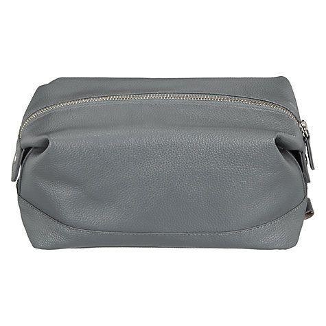 Buy John Lewis Croft Collection Leather Wash Bag Online at johnlewis.com