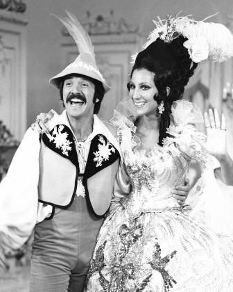 """""""Sonny and Cher Comedy Hour"""" Sonny and Cher circa 1972"""