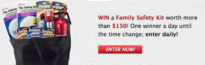 Mom in Training: Fall Back with Energizer for DST with Prize Pack #Giveaway - Ends 11-13