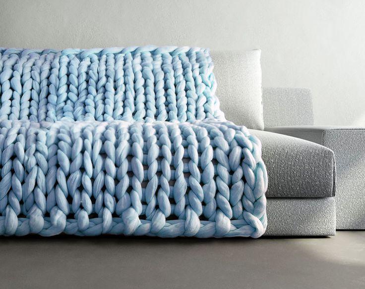 Peças de tricô em tamanho grande por Anna Mo                              …