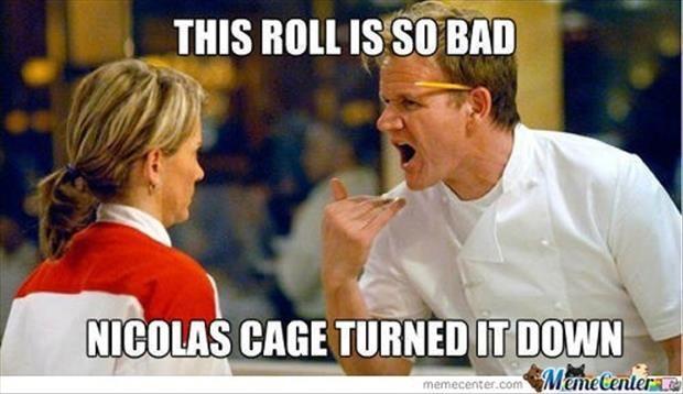 Insane chef insults.