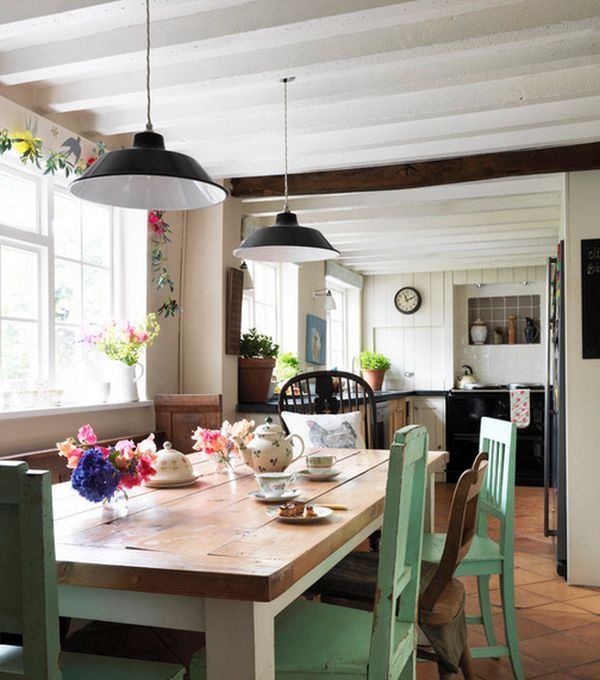 Keuken Eethoek Marktplaats : Farmhouse interiors are all about the simple details and about making