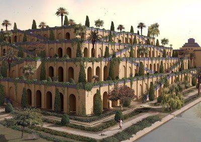 Merveilles du monde - 2 - Les Jardins suspendus de Babylone