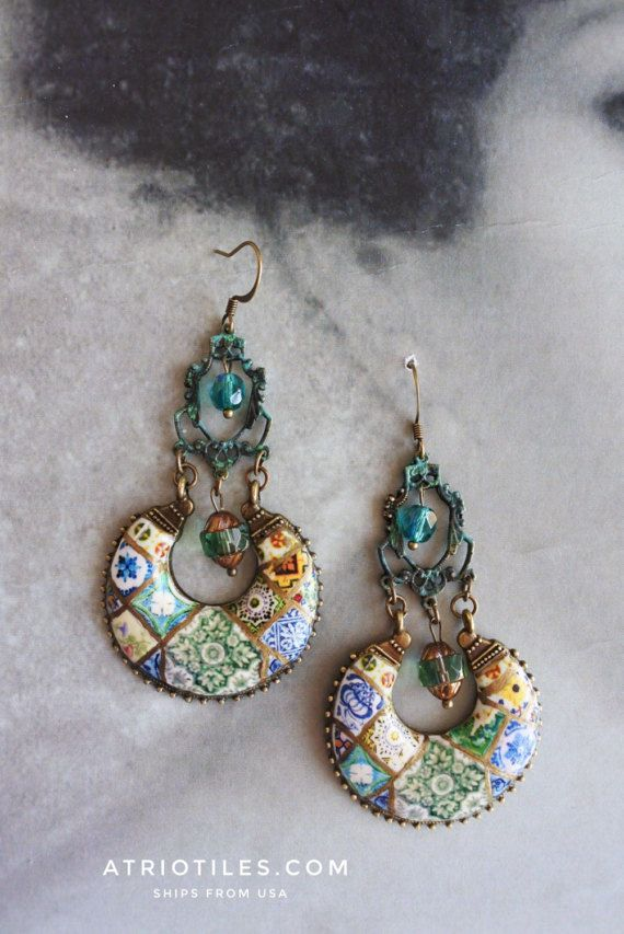 819 best Earring images on Pinterest | Bijou, Beading and Diamond