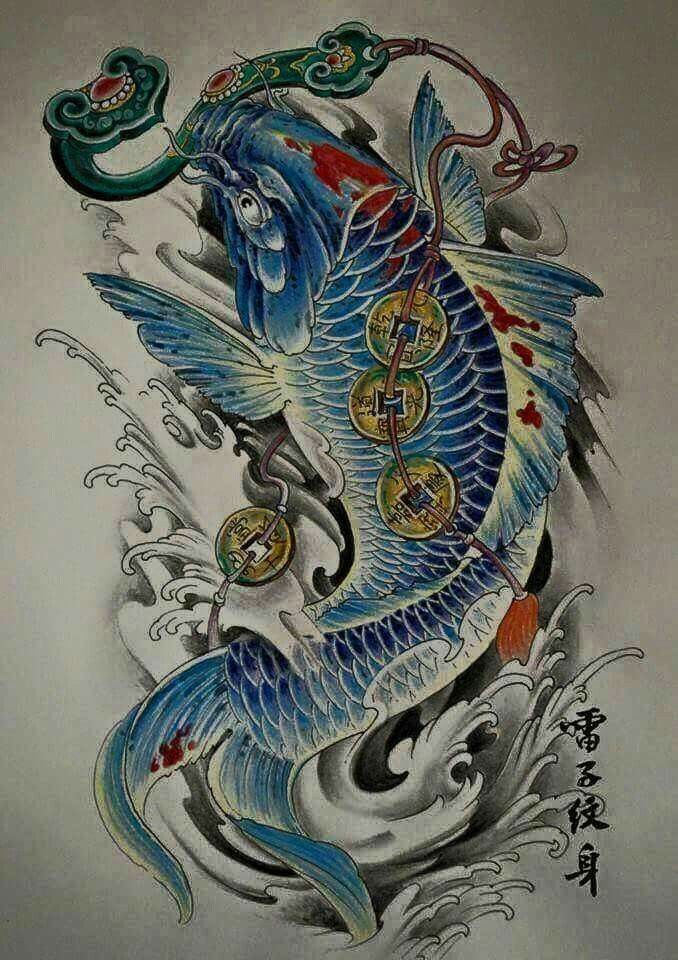 280 best koi fish tats images on pinterest fish tattoos for Best koi fish tattoo