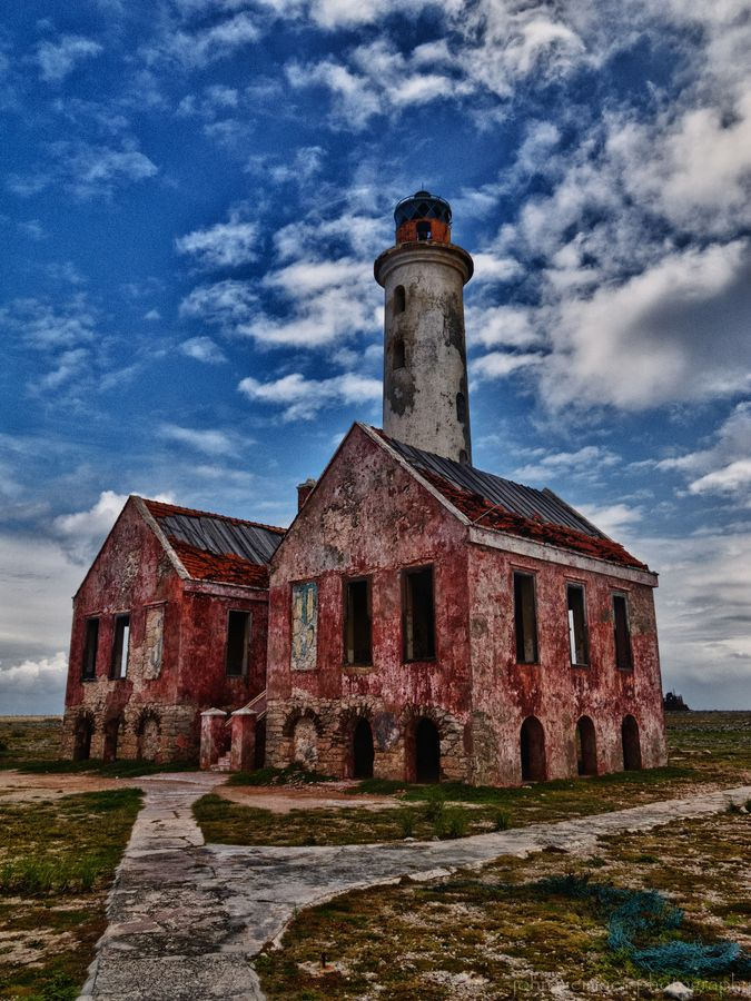 the old abandoned lighthouse on Klein Curacao by John Nieminen via 500px