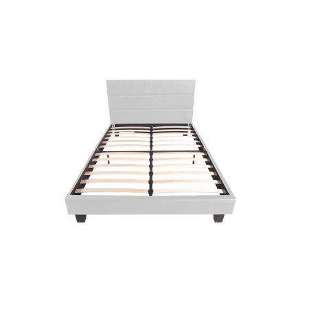 York White Queen Bed