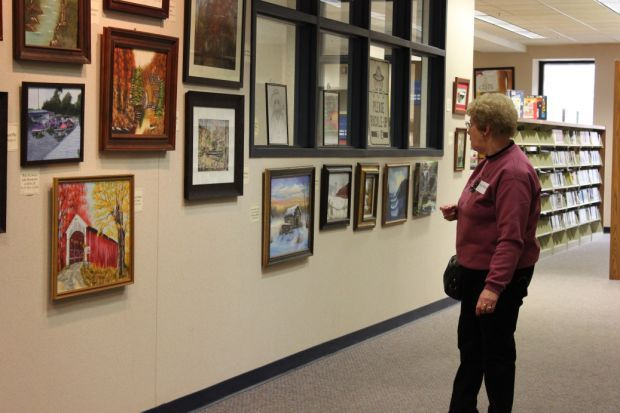 PORTAGE | Traditionally held in February each year, the Senior Art Fair has been pushed back to September to allow more seniors to participate and enjoy the display.