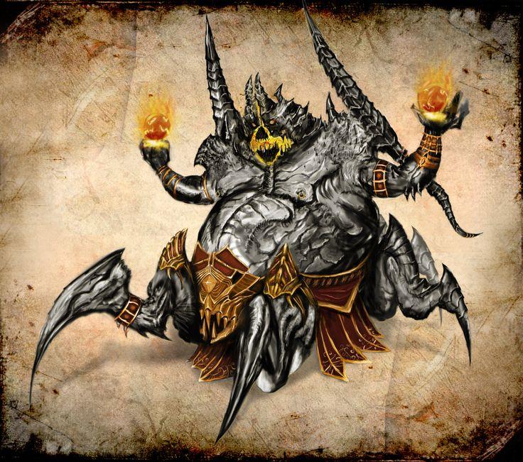 Azmodan, Diablo 3 fan art