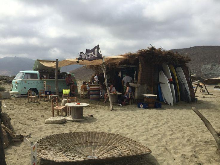 Surf lessons, Kolibithra Tinos