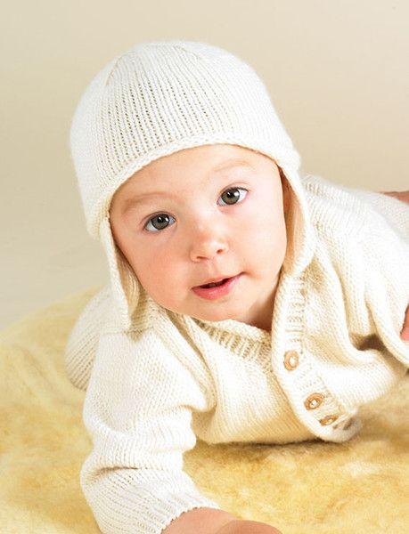 #Merino Baby hat - Natural | Flordemano