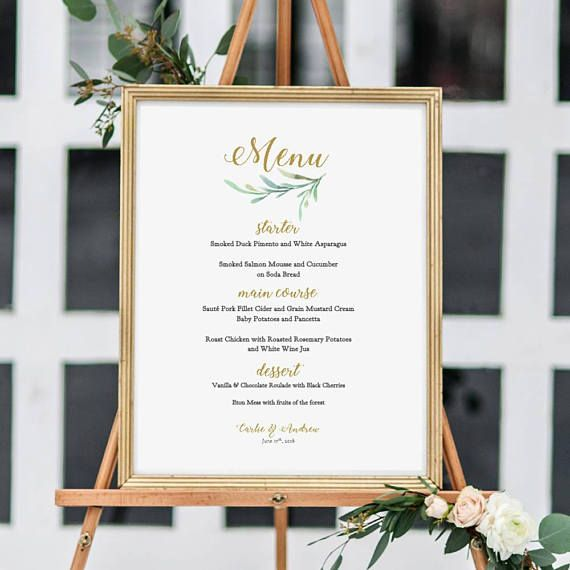 Best 25+ Wedding menu template ideas on Pinterest Free printable - bar menu template