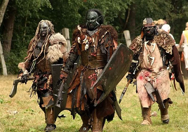 Orc Lotr Costume How to get an o...