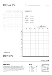 Battleships Paper Game - Battleship (game) - Wikipedia