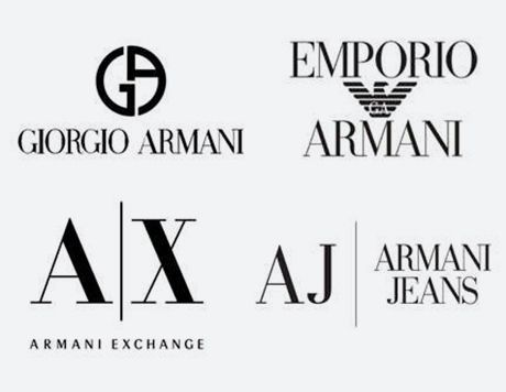 Armani-and-sub-brands: