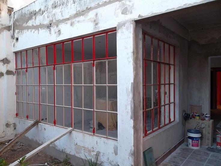 2 ventanal puerta y ventana de hierro antigua a restaurar en mercadolibre - Restaurar casas antiguas ...