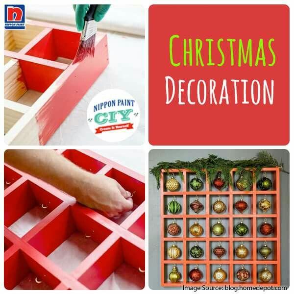 Dekorasi Natal tidak harus beli, jika membuat sendiri bisa. Sahabat Nippon Paint dapat mencoba memanfaatkan kayu tidak terpakai seperti CIY berikut.
