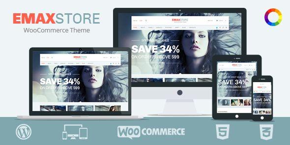 eMaxStore Responsive Multipurpose eCommerce WordPress Theme