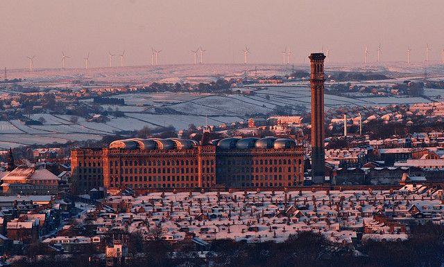 Listers Mill, Bradford, Yorkshire, England