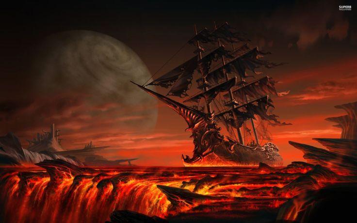 bateau pirate wallpaper - photo #35