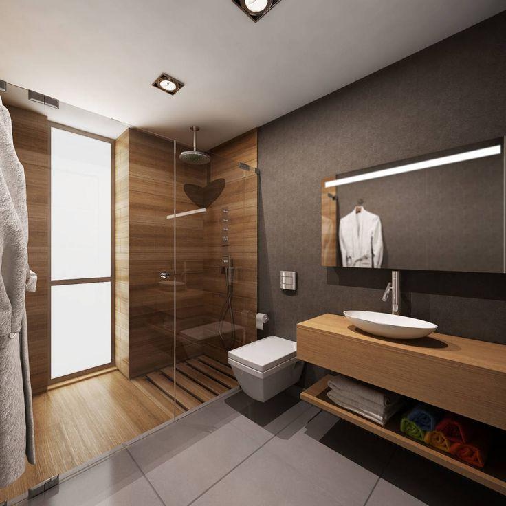 Céramique effet bois dans douche