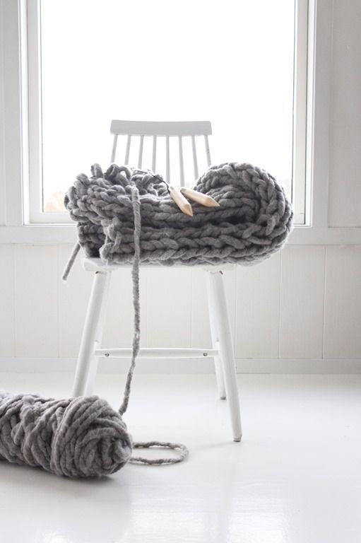 hand-knitting