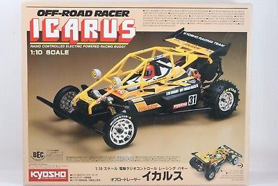 KYOSHO 1:10 Scale  ICARUS OFF-ROAD RACER 2WD  RC KIT  Ultra Rare