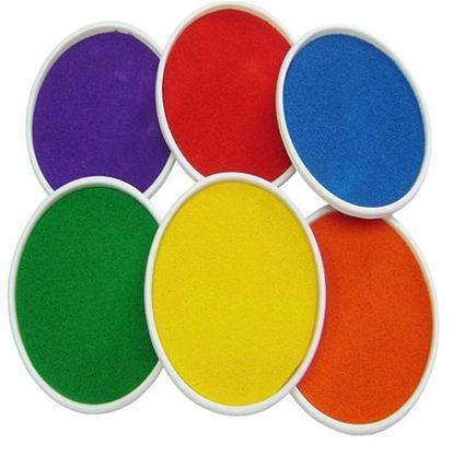 Large Paint Ink Pads for hand and footprint art
