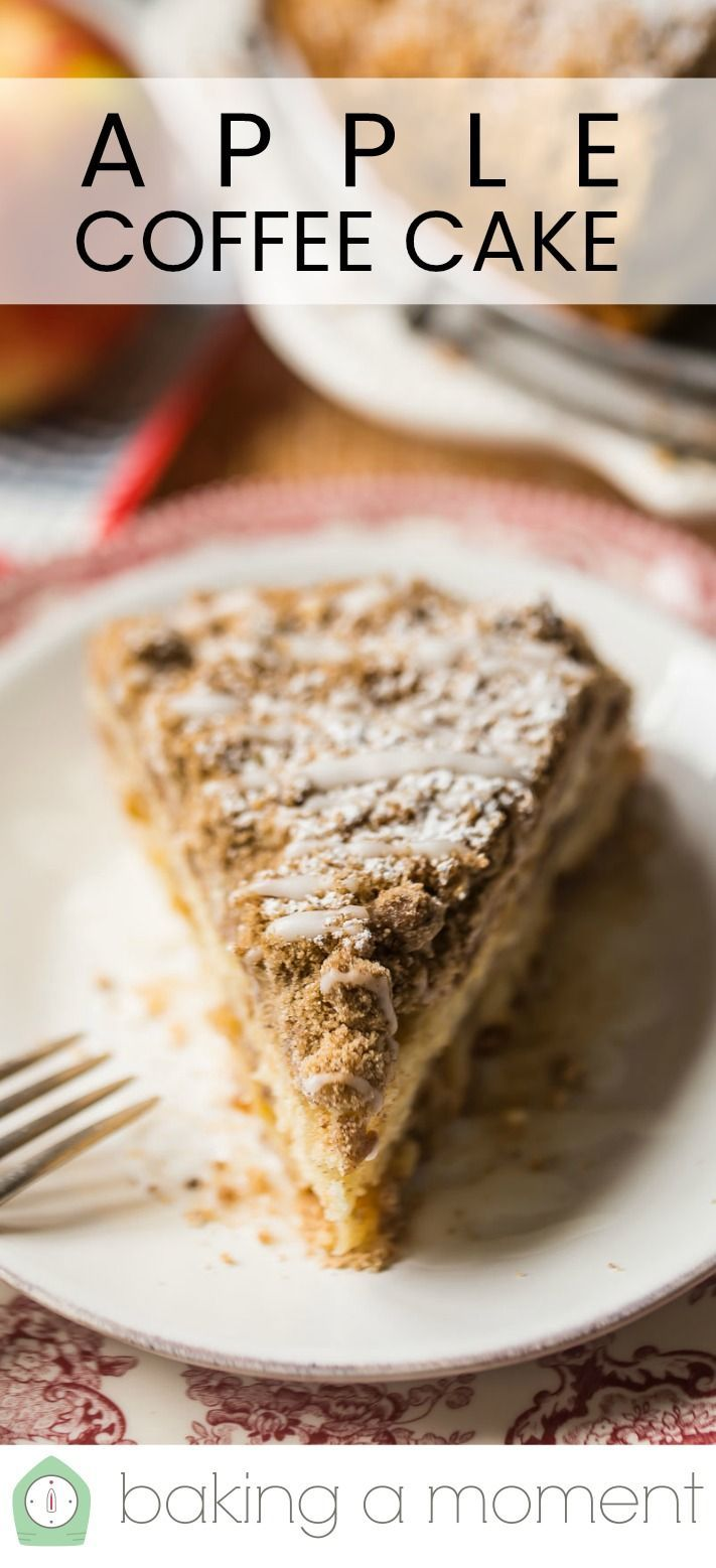 Apple Coffee Cake Such A Nice Treat Baking A Moment In 2020 Apple Coffee Cakes Dessert Recipes Easy Coffee Cake