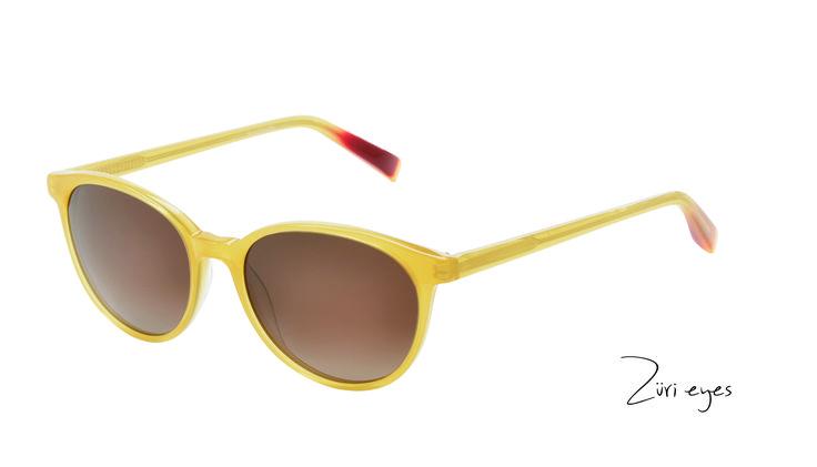 Züri eyes Highlight- in sonnigem gelb für traumhafte Sommertage