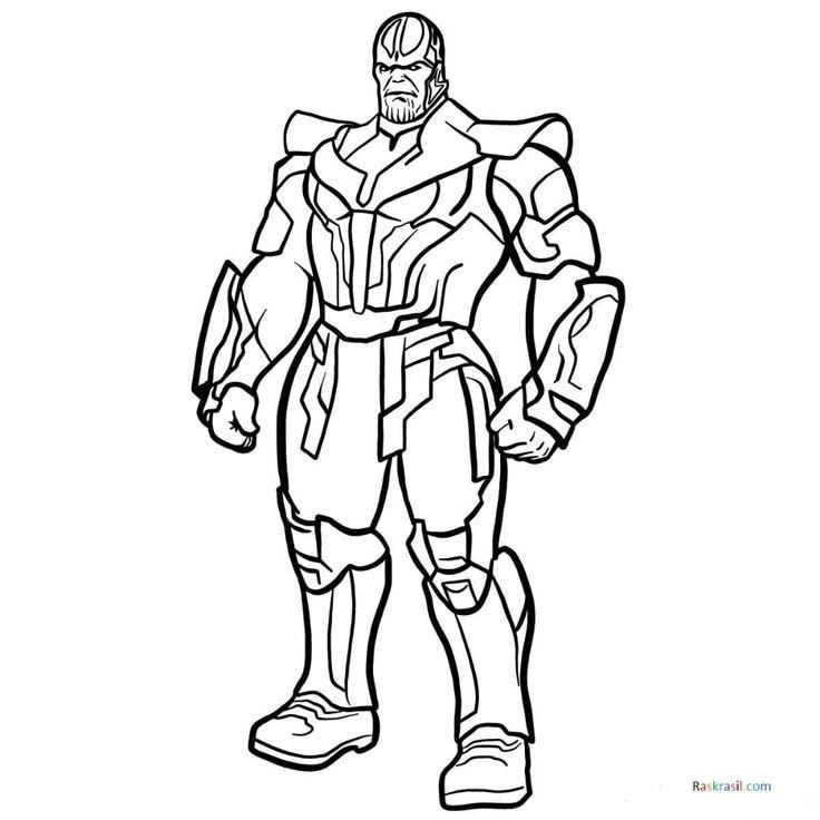 Dibujos para colorear Vengadores, 110 piezas. Imprime ...