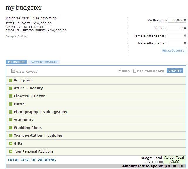 25 best ideas about Budget calculator – Wedding Budget Calculator