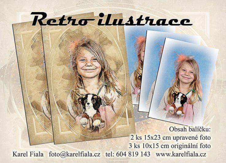 Focení pro základní a mateřskou školu - Retro ilustrace další info www.karelfiala.cz/skolni-fotograf