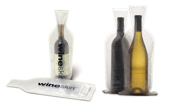 One wine gadget that is great is the WineSkin. If you only need to transport a couple of bottles in your luggage and don't want them to break, this is a great little gadget. Available on Amazon. http://www.amazon.com/Wine-Skin-WineSkin-Bag-2-Pack/dp/B0033C6FOM#