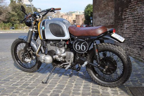 Bmw R100rs Scrambler P51 By Ottodrom Com Motorcycles Scrambler