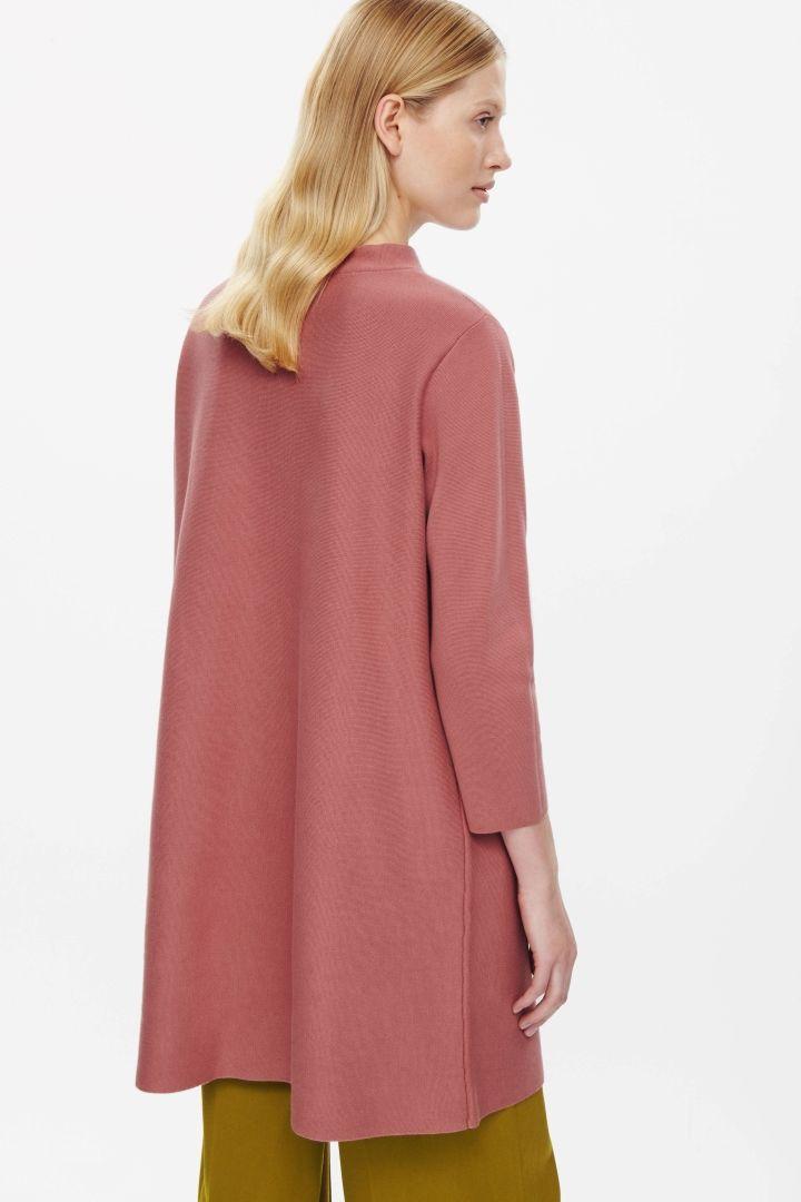 COS | A-line milano knit dress