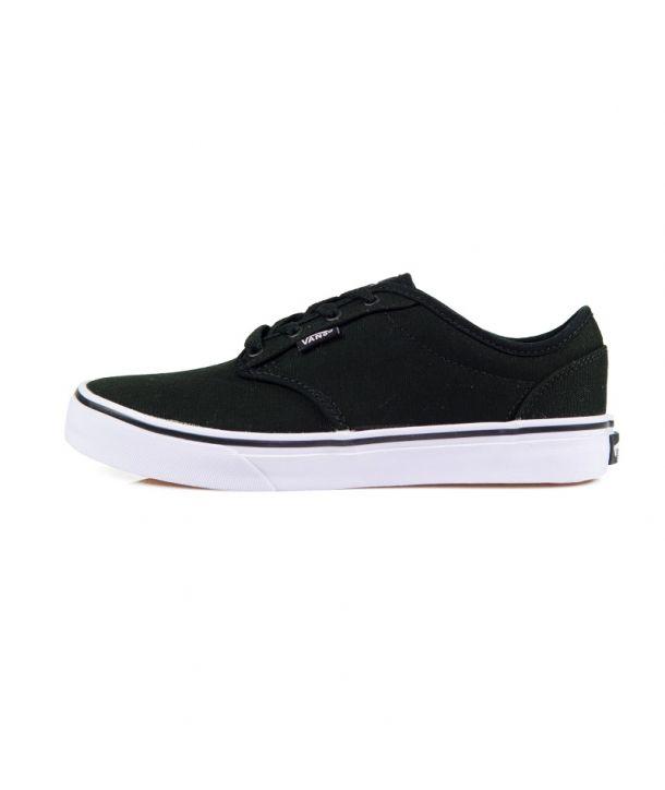 Το κλασικό VANS Atwood VKI5187 black μαύρο άσπρο. Sneaker με εκατομμύρια πωλήσεις ανά τον κόσμο. Η εταιρεία Vans πρωτοπόρος στα sneakers. Vans μαύρο.
